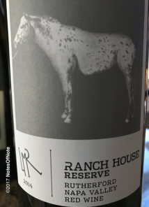 2014 Ranch House Reserve, Napa Valley, California, USA