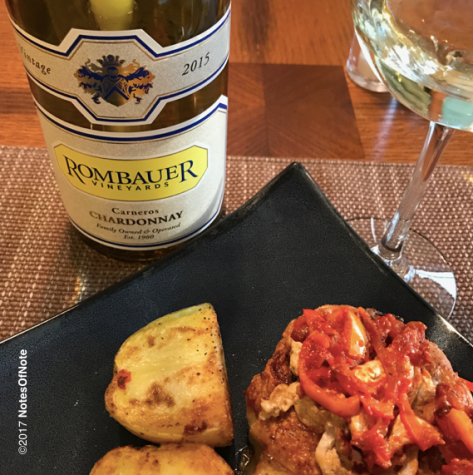 2015 Rombauer Vineyards Chardonnay, California, USA.