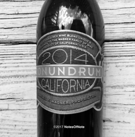 2014 Conundrum, Conundrum Wines, Rutherford, CA, USA.
