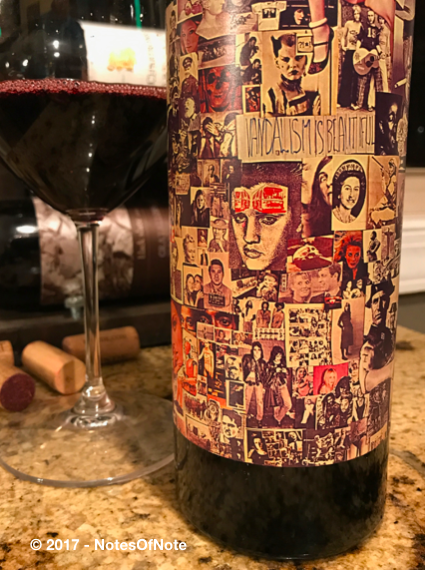 2015 Abstract, Orin Swift Cellars, Napa, California, USA.