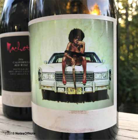 2016 Machete, Orin Swift Wines, California, USA.
