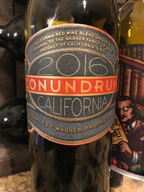 2016 Condundrum, Wagner Family of Wine, California, USA.