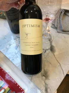 2014 Optimism, Optimism, Coombsville, Napa Valley, Sonoma, California, USA.