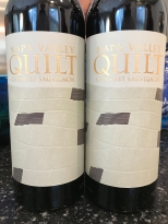 2016 Quilt Cabernet Sauvignon, Napa Valley, California, USA.