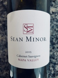 2015 Sean Minor Cabernet Sauvignon, Napa Valley, California, USA.