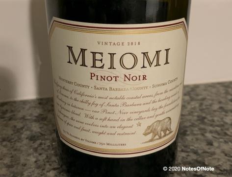2018 Meiomi Pinot Noir